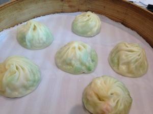Shanghai dumpling: peng hu winter gourd with shrimp