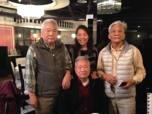 Me with my three uncles