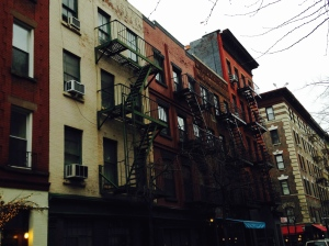 Typical Manhattan Fire Escapes