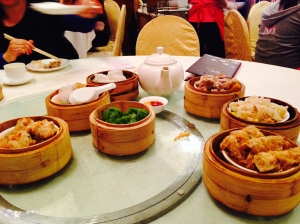 Dimsum with friends