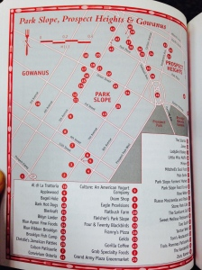 Map to the Holy Food Grail
