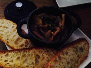 Oyster, shiitake, honshimeji, maitaki, enoki, white truffle oil, garlic, herbs and toast