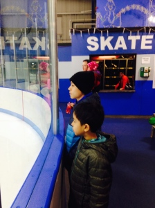 Skating at Hommocks Ice Rink in Larchmont
