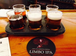 Long Trail Beer Sampler