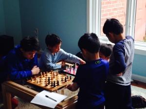 Chess playdate